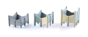 Suspended Bottom Steel Deck Chair
